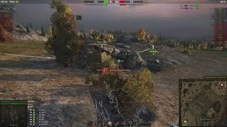 Strv 103 0 лучший бой 12300 урона.