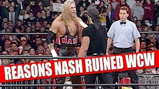 10 Things Kevin Nash Ruined in WCW!