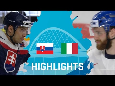 Slovakia - Italy | Highlights | #IIHFWorlds 2017