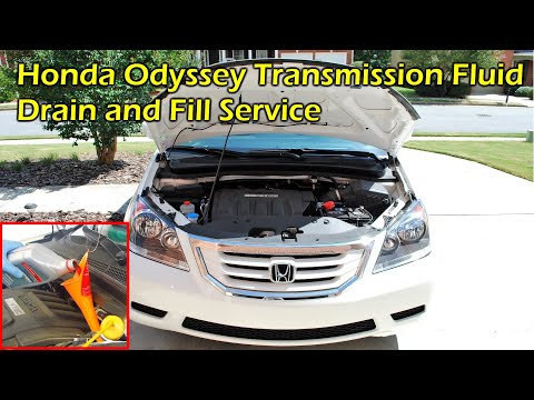 Honda Odyssey Automatic Transmission Fluid (ATF) Drain and Fill (2007 - 2010)