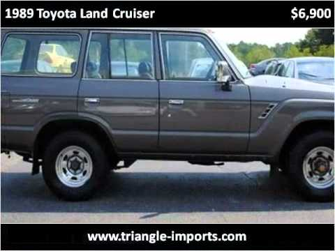 Used Cars Raleigh Nc >> 1989 Toyota Land Cruiser Used Cars Raleigh NC - YouTube