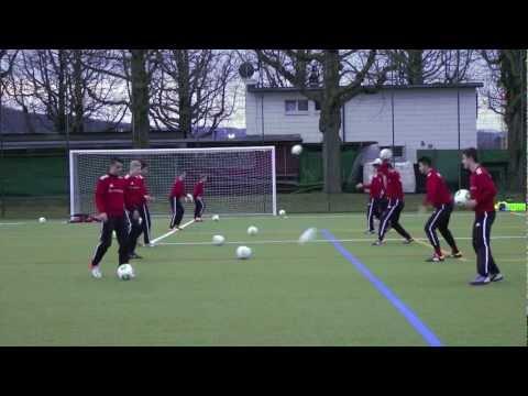 Technik - Passen/ An- Mitnahme - Fuss Und Hände In 2 Varianten - Kognitives Training U15 FC Basel