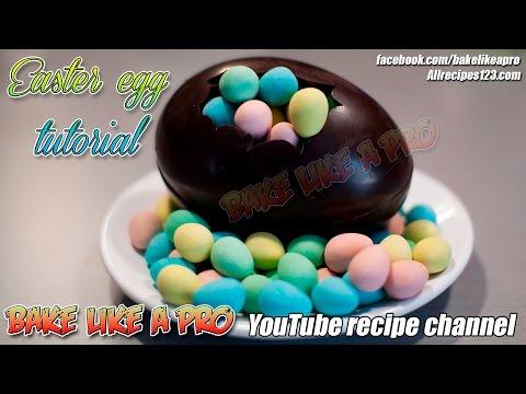 Dark Chocolate Easter Egg Filled With Cadbury Chocolate Mini Eggs - Fekete csokoládé húsvéti tojás t