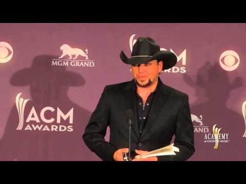 2013 ACM Awards Press Room - Jason Aldean
