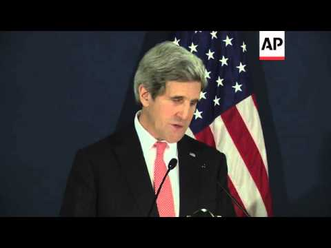 Kerry on visa restrictions, referendum on Crimea secession, meets Renzi