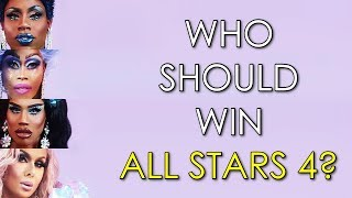 Who should win All Stars 4?