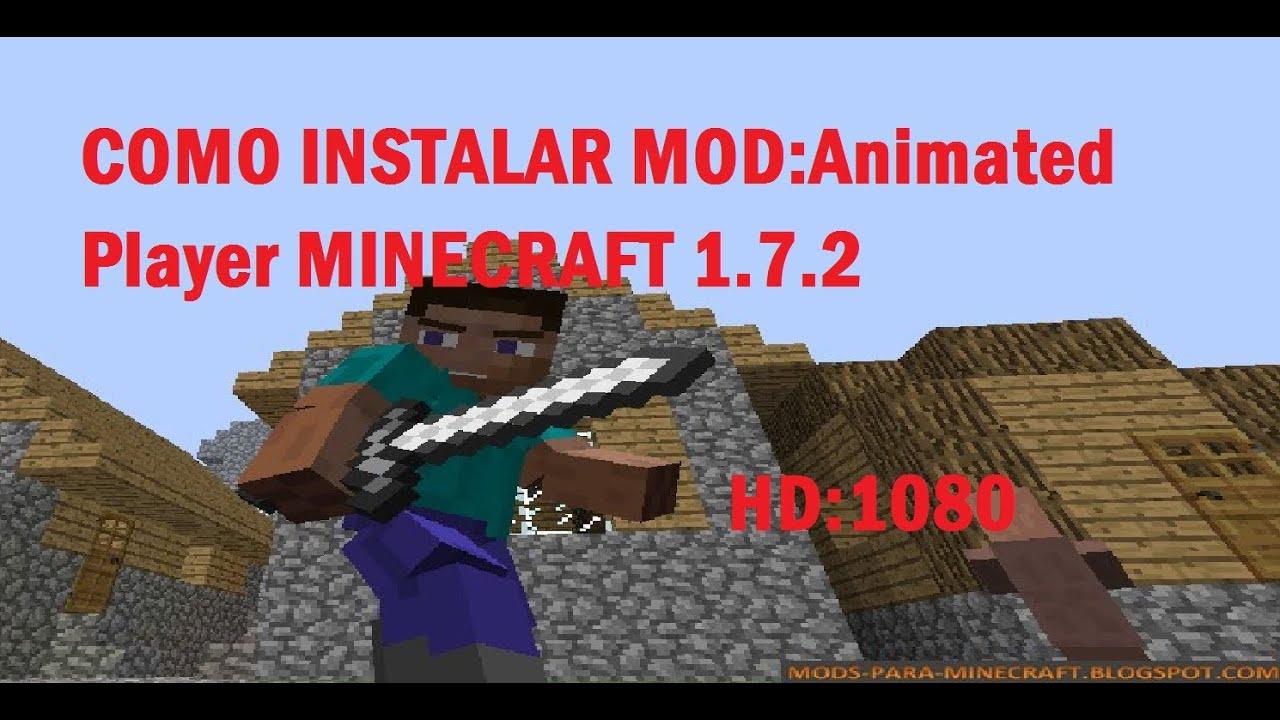 Скачать Animated Player для Minecraft 1.7.10