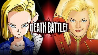Android 18 VS Captain Marvel (Dragon Ball VS Marvel Comics) | DEATH BATTLE!