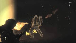 Rise of Tomb Raider Defeat Flame Thrower Trinity Soldier