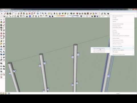 Google SketchUp - Geländer Mit Folge Mir