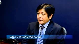 The Defense Chronicles with Senator Ferdinand Marcos, Jr  Feb  20, 2012)