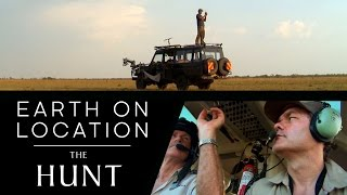 Tracking Cheetahs By Helicopter - The Hunt - #EarthOnLocation Vlog - BBC Earth Unplugged
