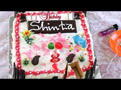 Perayaan Ulang Tahun Shinta Ke 8 Tahun - Happy Birthday Little Princess Shinta 8th
