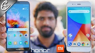 Honor 7X vs Xiaomi Mi A1 - What