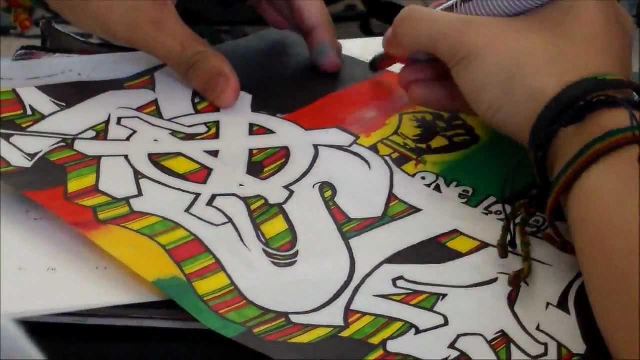 Rasta Graffiti Art Quot Rasta Quot Graffiti For 420 by