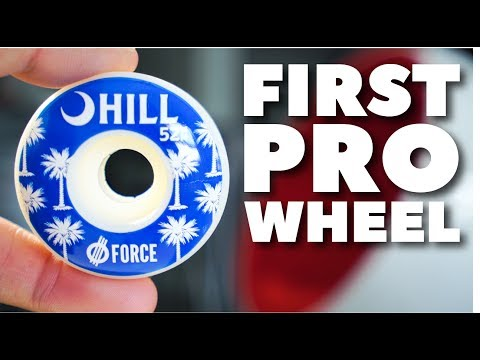 MY FIRST PRO WHEEL!!!
