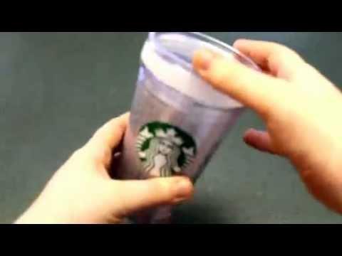 Starbucks Glitter Tumbler DIY