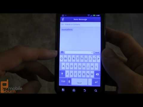 Facebook Messenger app for Android video tour