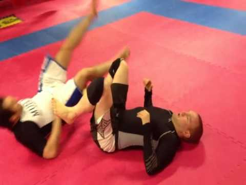 Basic ways to open the guard and pass the guard for MMA and No gi Submission Grappling Image 1