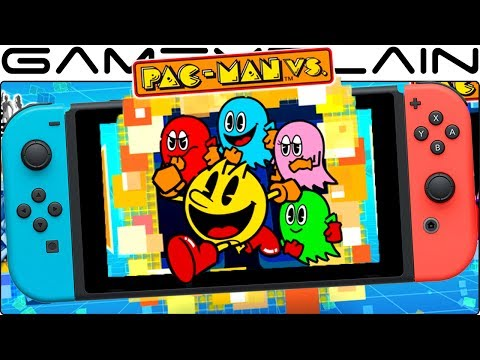 Testing Pac-Man Vs. Multiplayer on 2 Nintendo Switches w/ Download Play App (Namco Museum Gameplay)