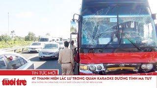 7 ôtô tông liên hoàn trên đường cao tốc, hơn 100 hành khách may mắn thoát nạn