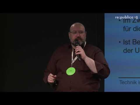 re:publica 2018 – Enno Park: Technik im Körper: Seitenwechsel per Implantation