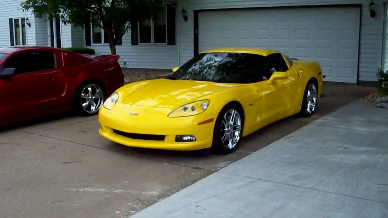 2007 Corvette Z51 Ls2 Youtube