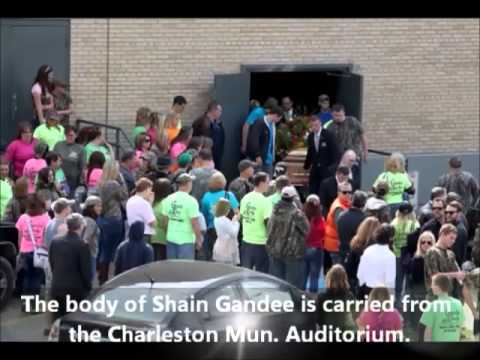 SHAIN GANDEE Laid to Rest (Funeral took place of April 7, 2013) PICS