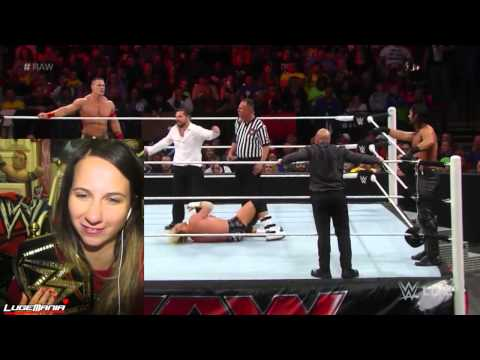 Wwe Raw 11 24 14 Cena Ziggler Vs Jj Security And Seth Rollins Live Commentary video