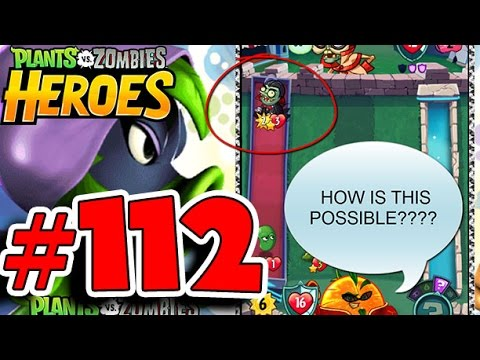 Plants vs Zombies Heroes Walkthrough 112 - This Guy Cheats ME?!?
