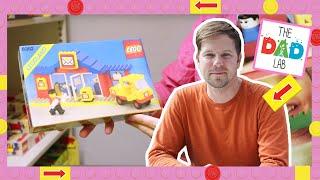 TheDadLab Secret LEGO Vault Room Visit! Hidden LEGO Archive Set Collection Review and Tour