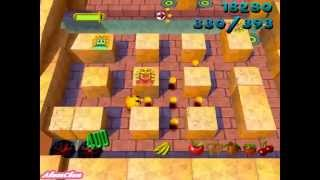 Ms. PAC-MAN: Maze Madness (PS1) - Part [1/28] - Level 1 - Cleopactra 1/2 (PL)