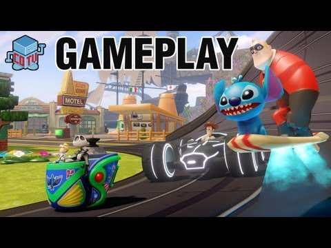 Disney Infinity E3 Gameplay E3M13