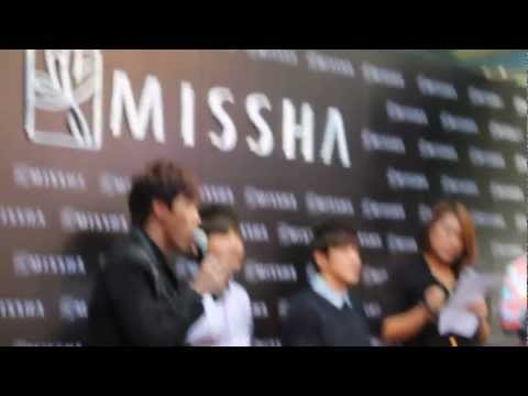 20130324 TVXQ in MISSHA Thailand Fan Meeting @ Digital Gateway Siam Square (Part 1)
