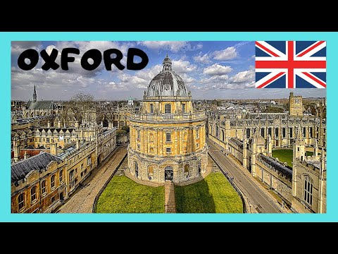 A walking tour of Oxford, England