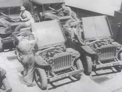 Jeep Willys Mb >> water proofing willys jeep - YouTube