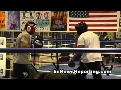 boxer vs mma fighter sparring - EsNews Boxing Image 1