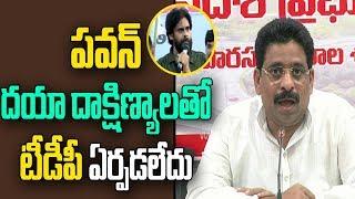 TDP MLC Buddha Venkanna Counter to Pawan Kalyan | Alleges Pawan Family Members | ABN Telugu