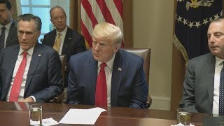 President Trump Participates in a Listening Session on Youth Vaping and the Electronic Cigar