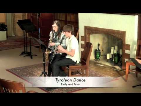 Tyrolean Dance, Henry Lazarus, clarinet and alto sax duet