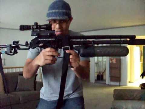 PAINTBALL GUN. QBOW. LONGBOW AIRGUN DESIGNS