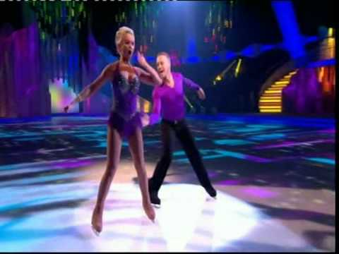 Dancing On Ice 2012 week 4 dan whiston and jennifer ellison
