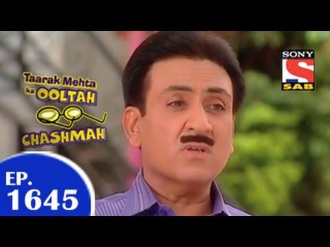 Taarak Mehta Ka Ooltah Chashmah - तारक मेहता - Episode 1645 - 7th April 2015 video