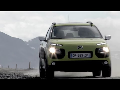 Out of this world Citroen C4 Cactus in Iceland – TopGear iPad Magazine