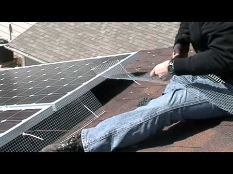 Solar Pigeon Barrier 2 Youtube
