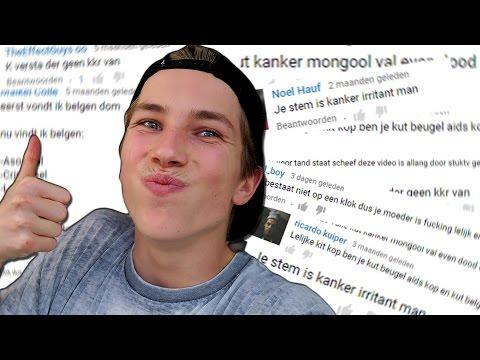 REAGEREN OP VIDEO'S VAN HATERS!