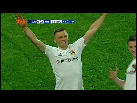 Зоря - Ворскла - 0:3. Відео-аналіз матчу