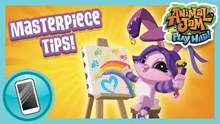 Masterpiece Tips And Tricks!  | Animal Jam & Play Wild