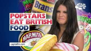 What Do Popstars Think Of British Food?!