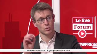 FPU LIVE - RATP Solutions Ville : le groupe étoffe son offre